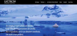 Gattinoni, online il nuovo portale: «esperienza e passione sempre in movimento»