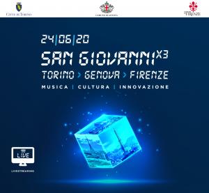 Torino, Genova e Firenze, la festa del 24 giugno  insieme in una piazza virtuale