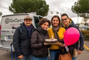 Transfer per gli aeroporti, GoOpti festeggia i 50 mila clienti