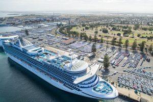 South Australia, boom delle navi da crociera: a febbraio 36 navi in arrivo