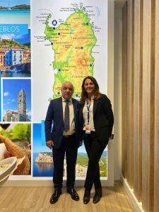 Grimaldi Lines a Fitur insieme alla regione Sardegna, un'offerta completa per il mercato spagnolo