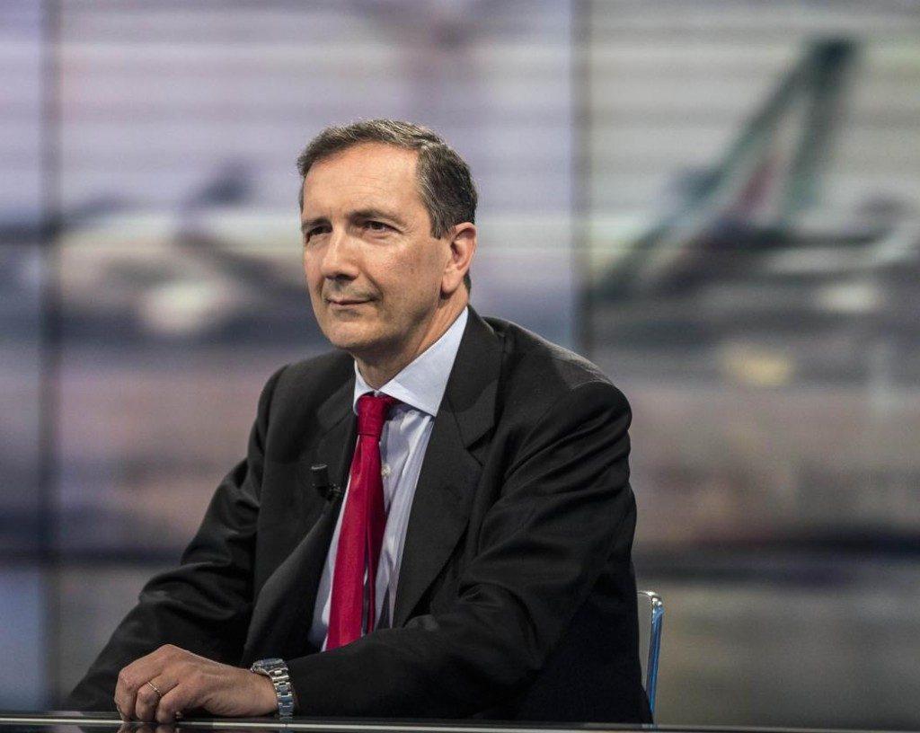 Gubitosi su Alitalia: «La scadenza resta il 30 aprile, poi si vedrà»
