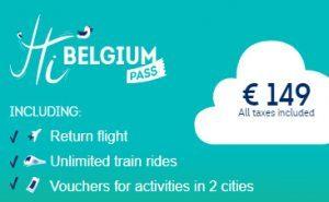 Hi Belgium Pass, visite e trasporti in un'unica card per 13 città belghe