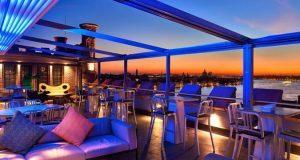Hilton Molino Stucky Venice, aperitivo in terrazza sulla laguna