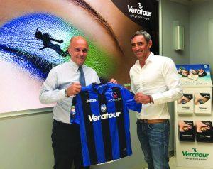 Veratour main sponsor dell'Atalanta