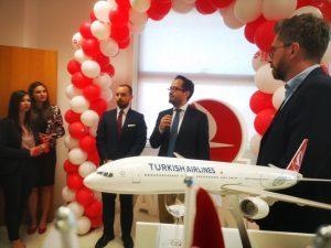 Turkish Airlines inaugura il nuovo ufficio passeggeri a Bologna