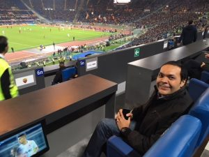 l'Egitto festeggia la Roma all'Olimpico come sponsor turistico