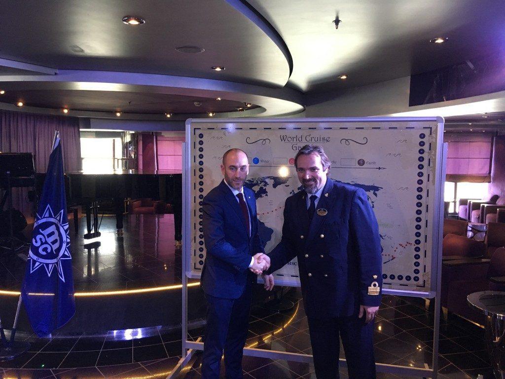 Msc Crociere: al via da Genova la prima world cruise