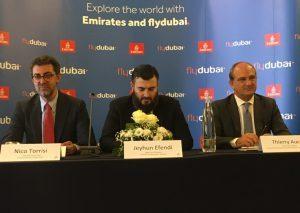 Battesimo ufficiale per il Dubai-Catania di Flydubai ed Emirates