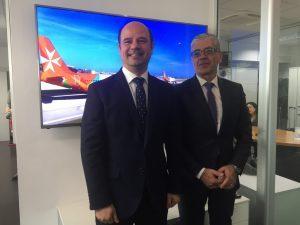 Air Malta in accelerata sull'Italia: la crescita passeggeri sfiora il 30%