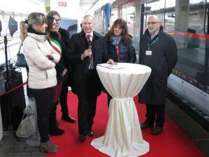 Öbb in sinergia con Trenitalia sulla Venezia-Vienna
