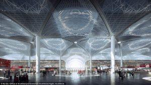 Istanbul New Airport, completato il 75% delle infrastrutture