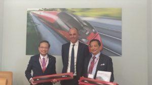La Taiwan High Speed Rail incontra a Roma i vertici di Italo