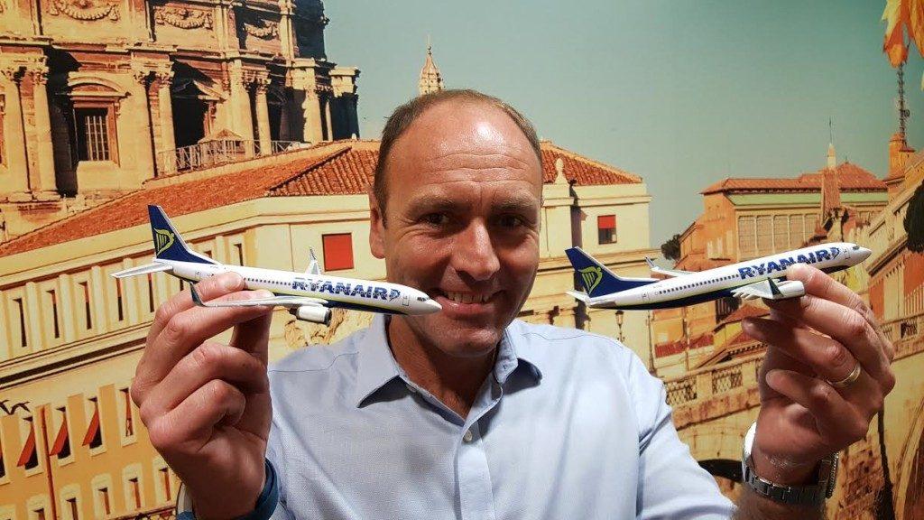 Ryanair: operativi i voli in connessione da Fiumicino
