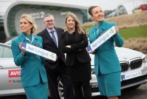 Aer Lingus: nuova gamma di veicoli dopo accordo con Avis Budget