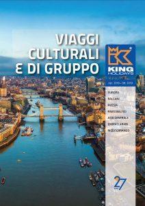 """King Holidays: 30 itinerari nella brochure""""Viaggi Culturali e di Gruppo"""""""
