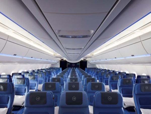 Lufthansa presenta l 39 airbus a350 900 luci per tutti i gusti for Manuale per la pulizia della cabina dell aeromobile