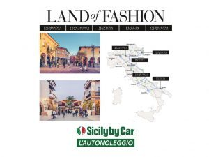 Land of Fashion stringe una partnership con Sicily by Car