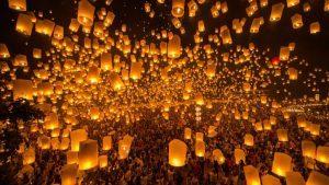 Dimensione Turismo in Thailandia per il Festival delle lanterne