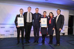Latam Airlines: per la seconda volta Apex premia i servizi a bordo