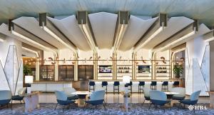 Singapore Airlines, 50 milioni di dollari per rinnovare le lounge a Changi