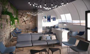 Adr: nuova lounge a Fiumicino