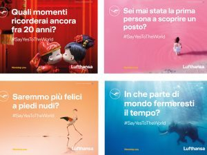 "Lufthansa: nuova campagna e contest ""Say Yes to the world"""