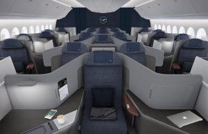 Lufthansa presenta la nuova business class: dal 2020 sui B777-9