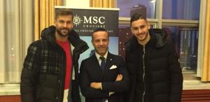 Msc e Napoli Calcio dedicano il calendario 2020 all'inclusione razziale e sociale