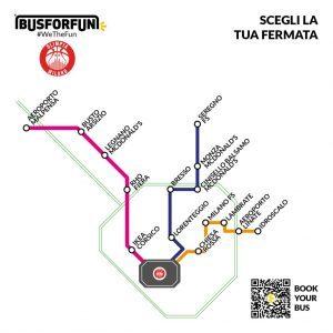 BusForFun amplia l'offerta per raggiungere in autobus partite e concerti