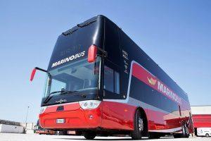 MarinoBus, successo per i collegamenti per l'Europa e le linee da Rimini