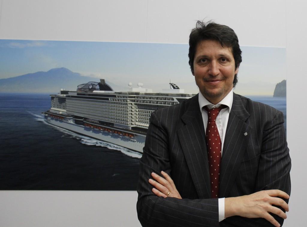 Massa, Msc Crociere: «Un milione 700 mila passeggeri nel 2016»