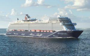 Tui Cruises, consegnata a Turku l'ammiraglia Mein Schiff 1