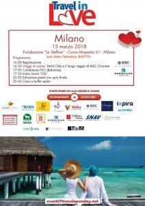 Travel in Love a Milano martedì 13 marzo