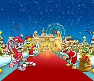 Prima apertura natalizia per Mirabilandia