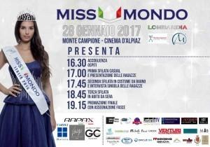 Montecampione ospita le selezioni regionali di Miss Mondo