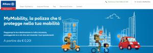Allianz partners, My Mobility innovativa soluzione di instant insurance