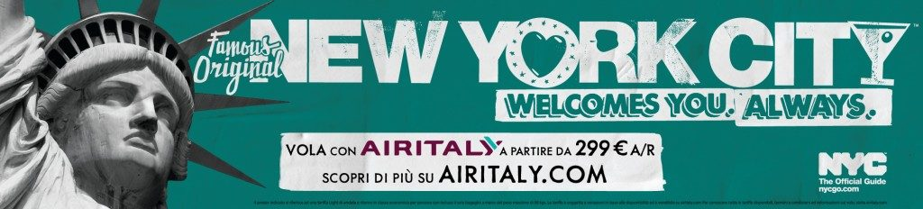 NCY& Company, campagna turistica globale con Air Italy
