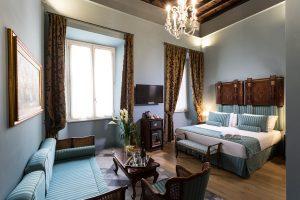 Navona Grand Suite: il fascino della Roma del Seicento