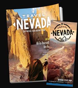 Le icone della Nevada Visitor Guide: itinerari di viaggio su strada