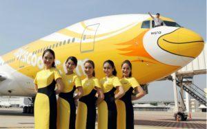 La low cost thailandese NokScoot sui Gds con Hahn Air Systems