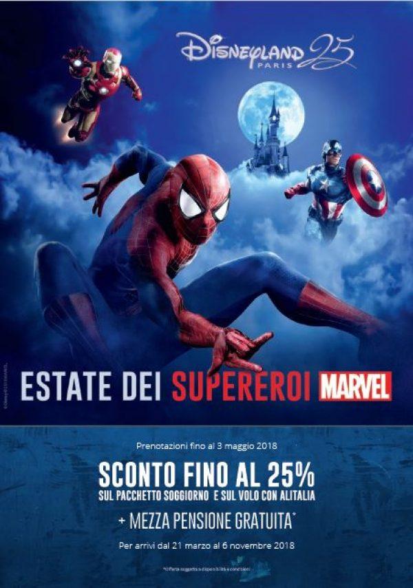 Disneyland Paris, al via una promo a tema Marvel