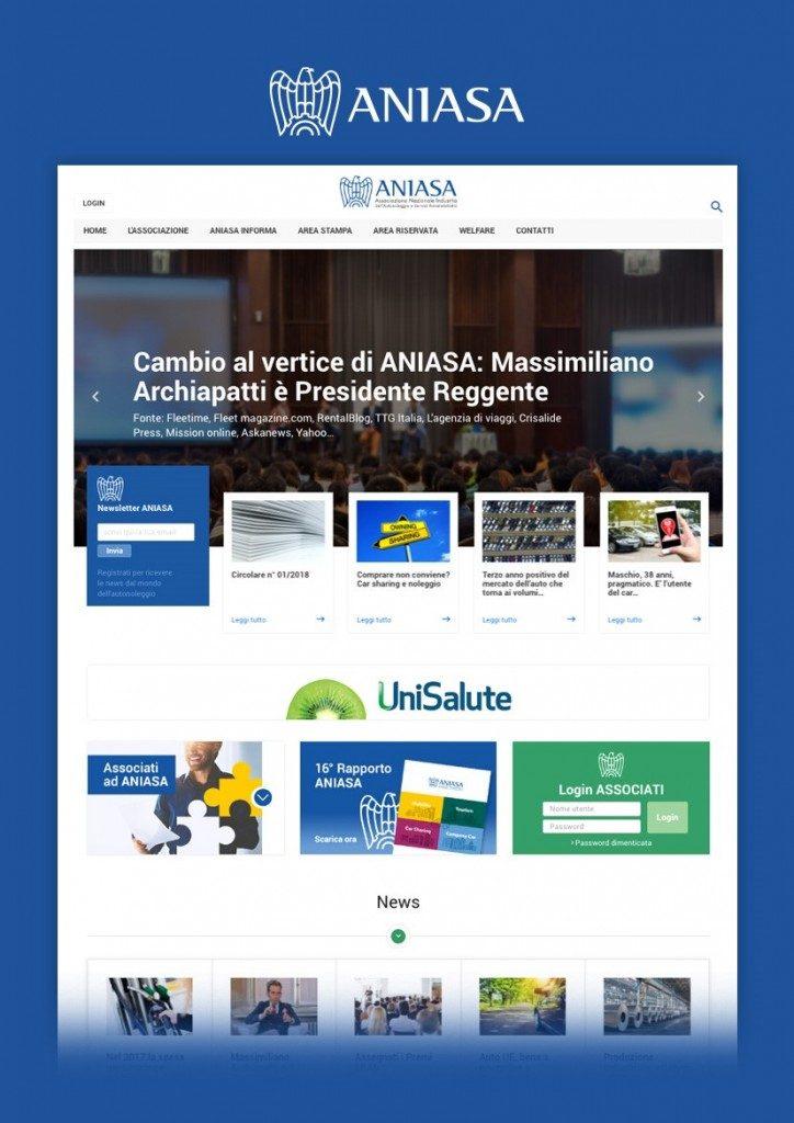 Aniasa parte il nuovo sito. Rivoluzionata l'offerta informativa dell'associazione