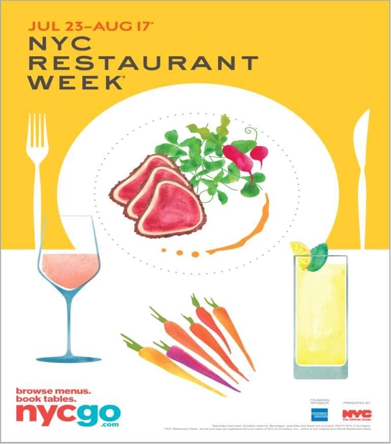 Tutto pronto per la nuova edizione di Nyc Restaurant Week