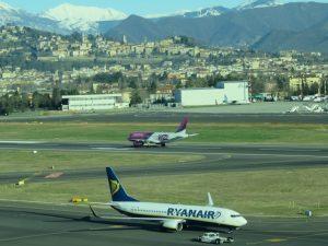 Milano Bergamo, terzo scalo in Italia sfiora i 13 milioni di passeggeri