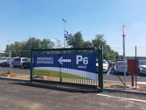 Operativo a Malpensa il più grande parcheggio dello scalo: il P6 Smart