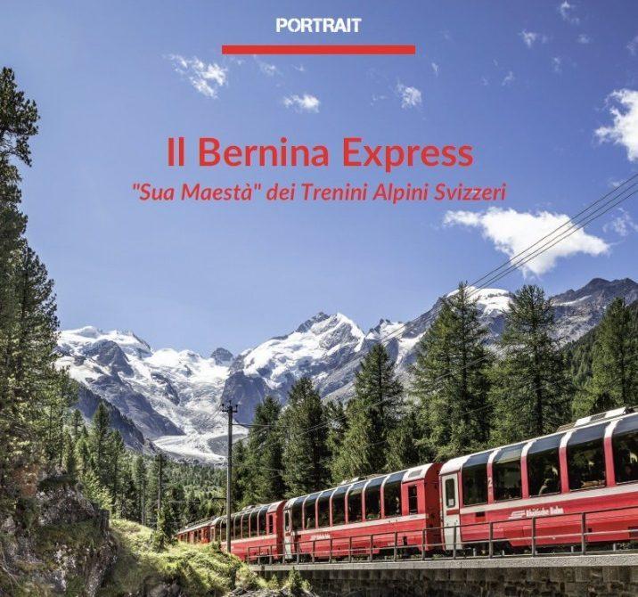 Bernina Express, è online il nuovo Portrait
