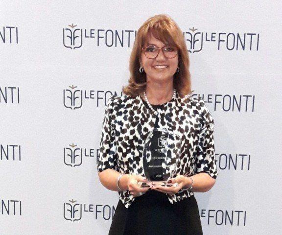 A Paola Corna Pellegrini (Allianz) il premio Tecnovisionarie®2018