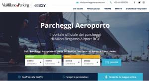 Parcheggiaeroporto: nuovo sito web per i passeggeri su Milano Bergamo