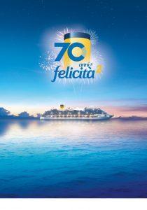 Costa Crociere, una promozione per festeggiare i 70 anni